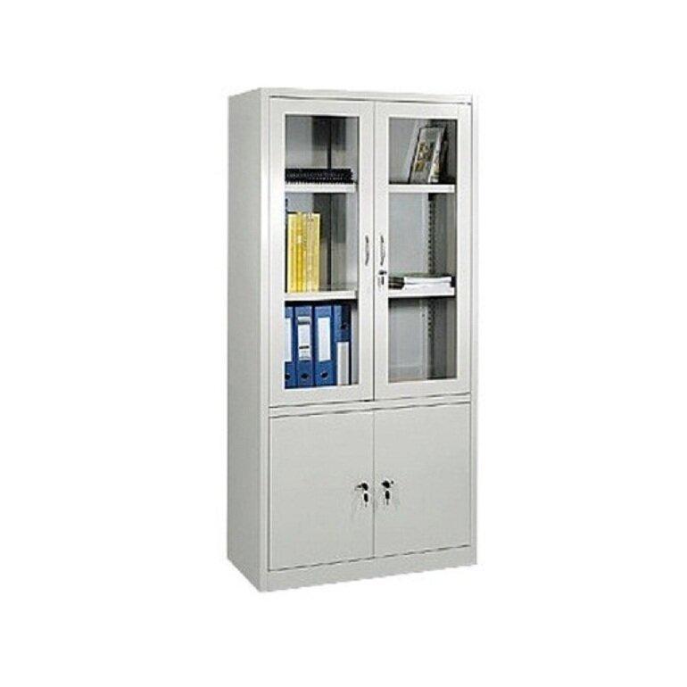 Tủ tài liệu sắt Hòa Phát thường có màu trắng
