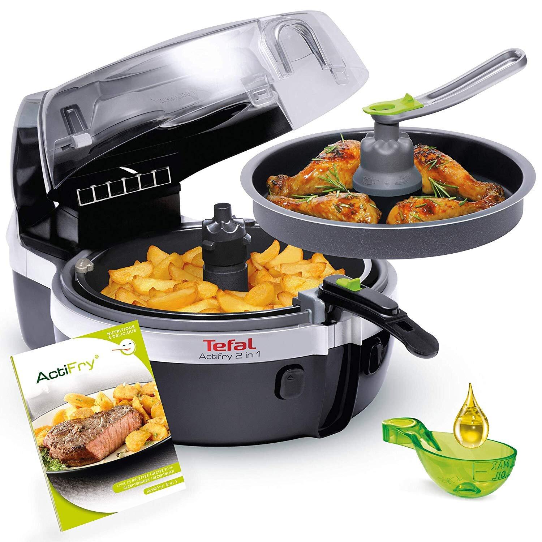 Tefal YV9601 2 tầng có thể nấu được 2 món cùng lúc mà không làm cho món ăn bị bám mùi lẫn nhau