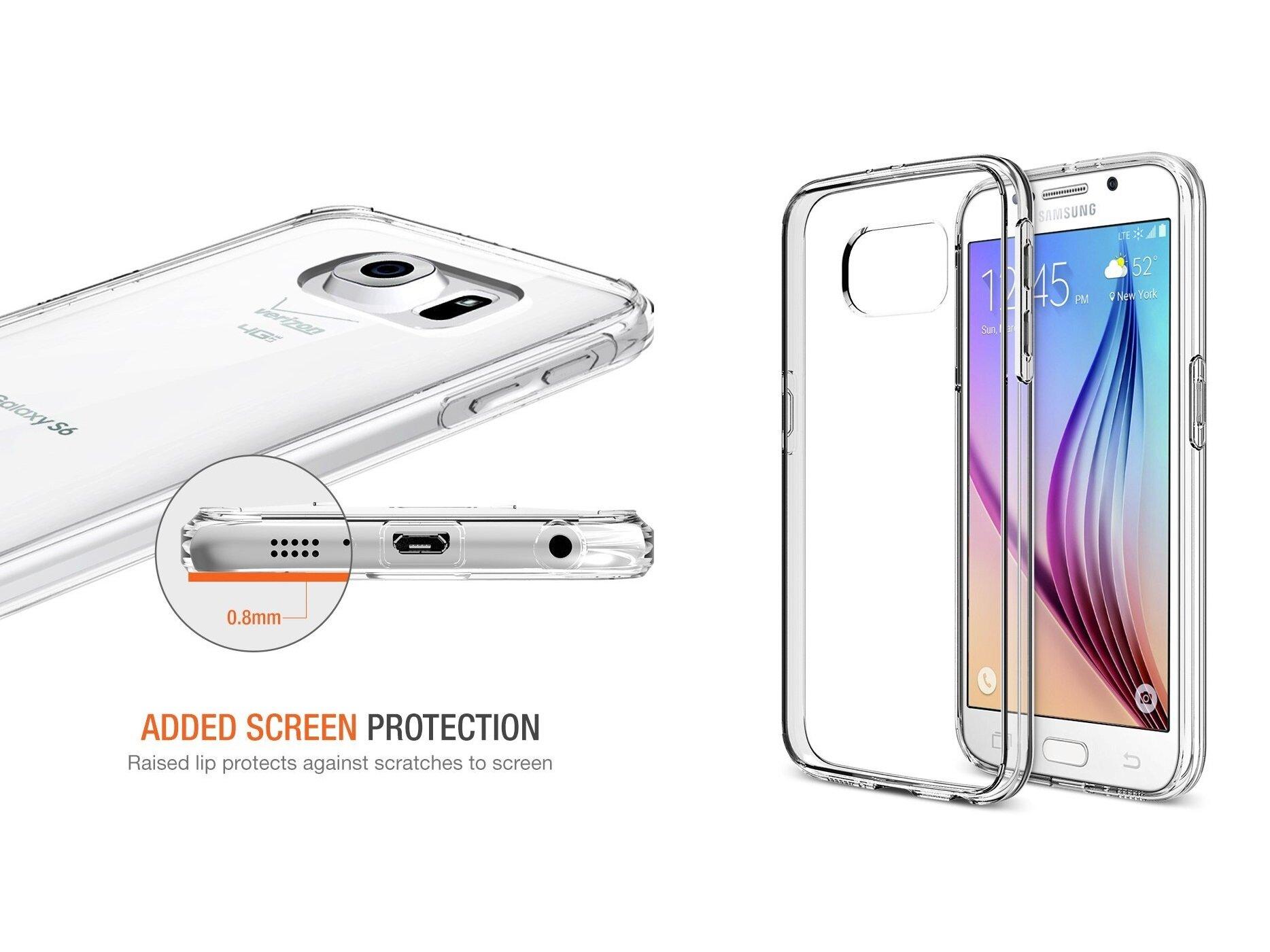 5 bộ vỏ trong suốt độc đáo của Samsung Galaxy S6