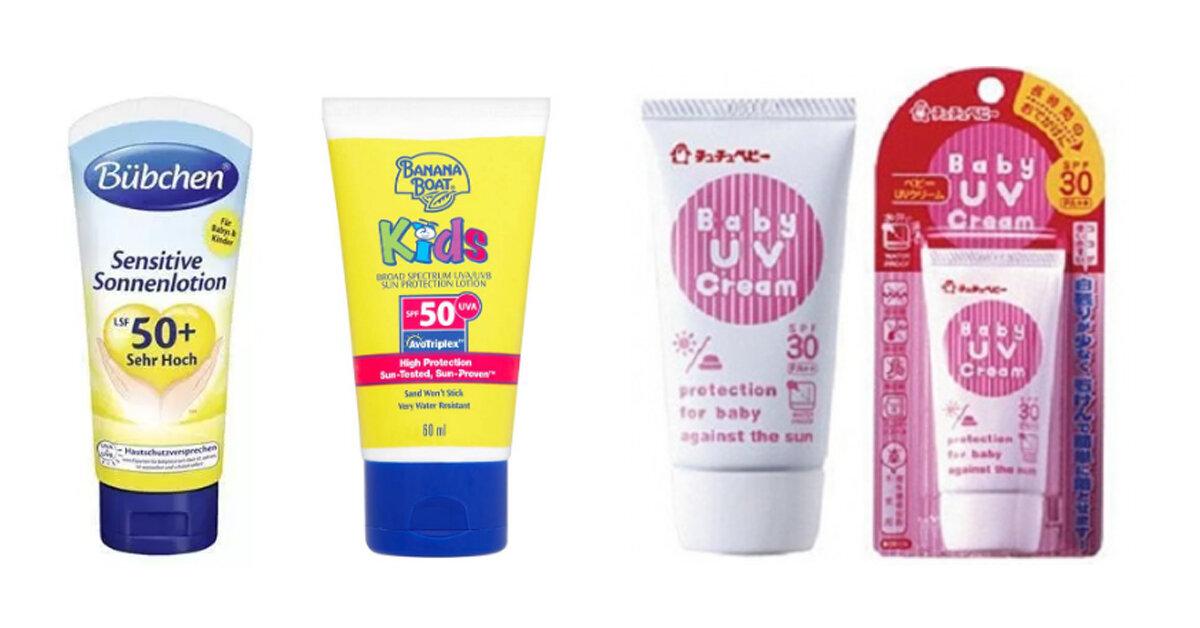 5 cách chọn kem chống nắng cho trẻ em chuẩn khỏi chỉnh