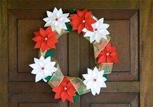 5 cách làm vòng nguyệt quế treo cửa dịp Giáng sinh