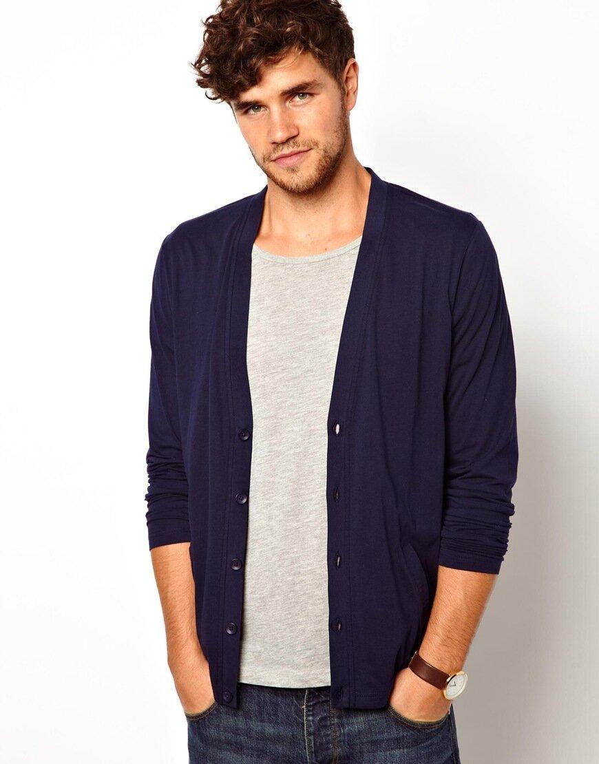 5 cách mặc đẹp với áo khoác cardigan nam
