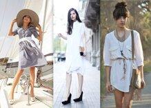 5 cách mặc váy sơ mi đẹp bạn gái nên học hỏi