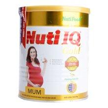 5 điểm nổi bật của sữa bột Nuti IQ Mum Gold