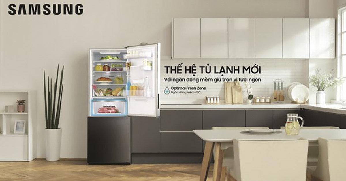 5 điều thú vị của tủ lạnh ngăn đá dưới đầu tiên của Samsung trong năm 2018