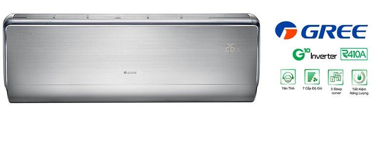 5 dòng điều hòa inverter tiết kiệm điện từ hãng máy lạnh giá rẻ Gree