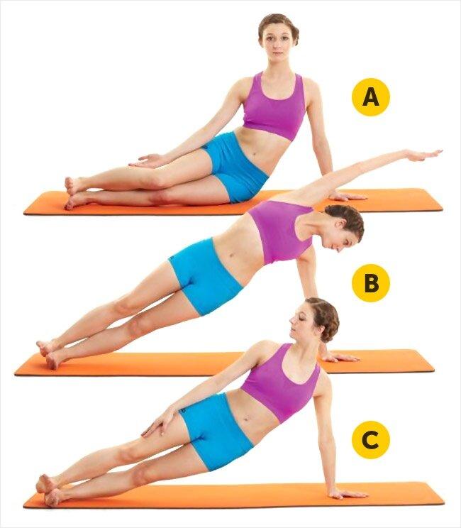 5 động tác đơn giản mà hiệu quả giúp bạn có được vòng eo thon gọn