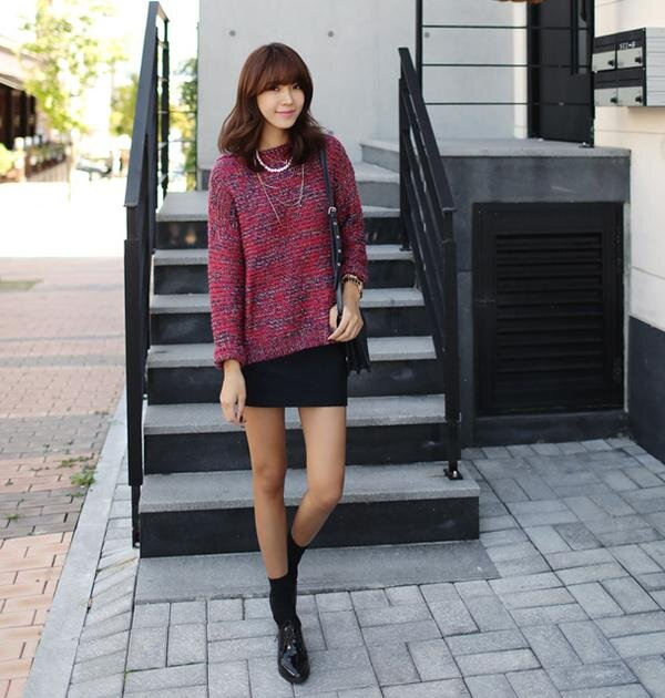 """5 kiểu váy len """"không thể làm ngơ"""" trong mùa thu đông năm nay"""