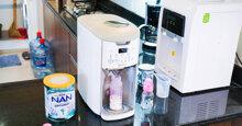 5 lợi ích cho bố mẹ hiện đại khi chọn mua máy pha sữa tự động thông minh