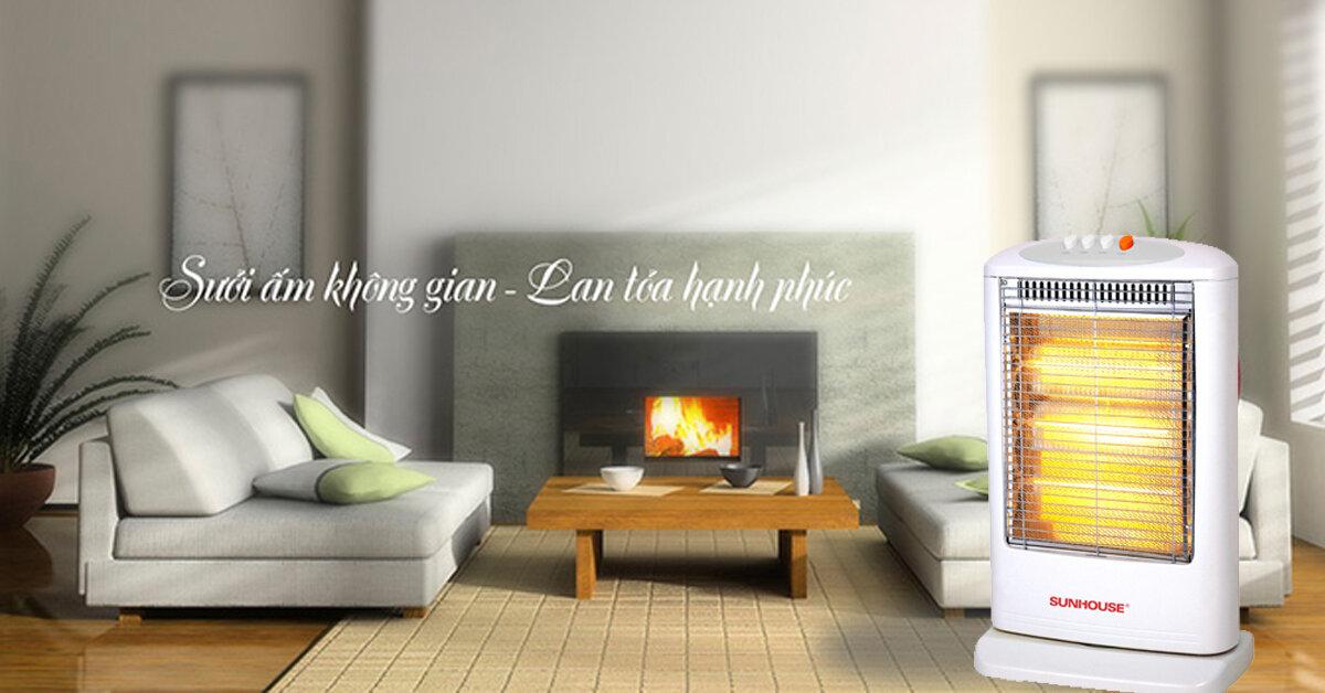 5 lưu ý khi sử dụng quạt sưởi Sunhouse để tiết kiệm và an toàn.