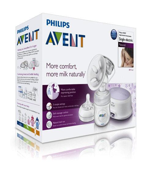 5 lý do nên chọn máy hút sữa bằng điện Philips Avent
