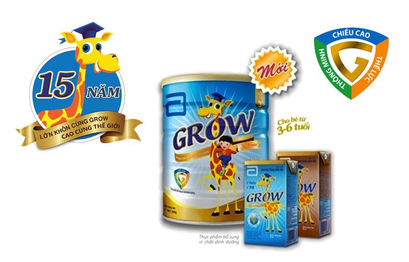 5 lý do nên chọn sữa bột Abbott Grow Advance cho bé trên 3 tuổi