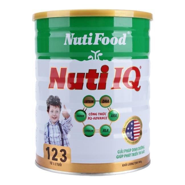 5 lý do nên chọn sữa bột Nutifood Nuti IQ 123 cho bé từ 1 đến 3 tuổi