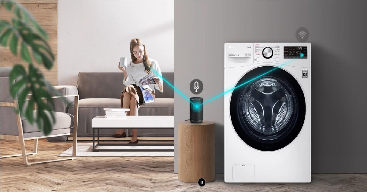 5 lý do nên mua máy giặt LG lồng ngang