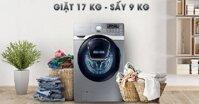 5 lý do vì sao máy giặt Samsung Add Wash WD17J7825KP/SV là lựa chọn hàng đầu cho mùa mưa bão