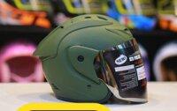 5 nón bảo hiểm 3/4 Asia có kính dáng mạnh mẽ an toàn giá từ 300k