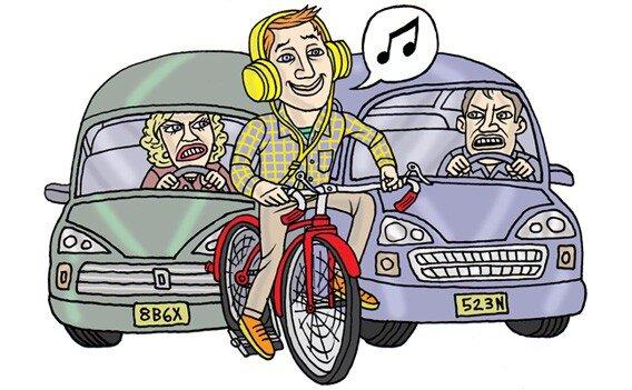 5 quy tắc cơ bản nếu muốn nghe nhạc khi đi xe đạp