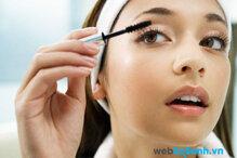 5 sai lầm thường gặp khi bạn sử dụng mascara