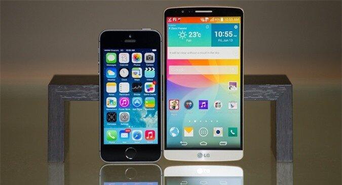 5 tính năng của LG G3 đáng để iPhone 6 học tập