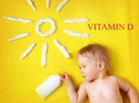 5 vitamin D cho bé 1-10 tuổi chậm lớn, biếng ăn