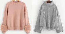 5 xu hướng áo len nữ lên ngôi thời trang thu đông 2018 không thể bỏ lỡ