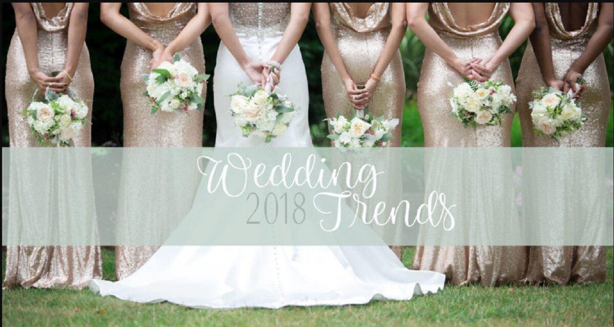 5 xu hướng trang trí tiệc cưới hiện đại cho các cô dâu 2018