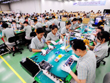 50% điện thoại Samsung được sản xuất tại Việt Nam