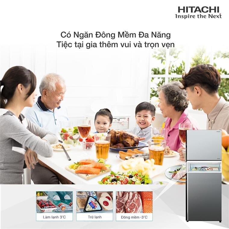 Ưu nhược điểm của tủ lạnh Hitachi Inverter 443 Lít R-FVX510PGV9(MIR)