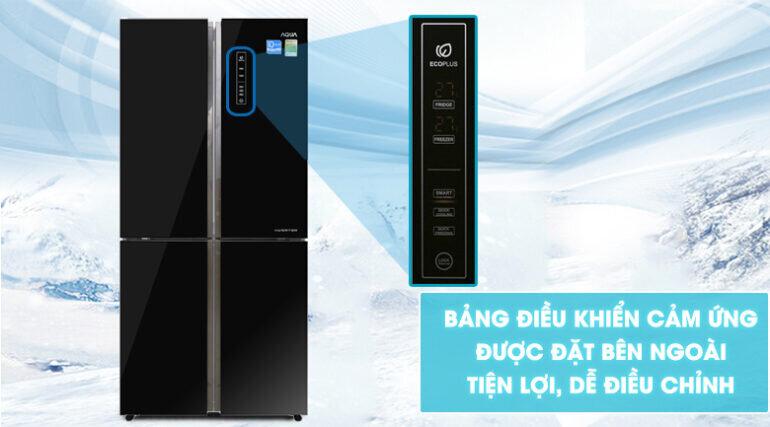 Tủ lạnh 4 cánh Aqua