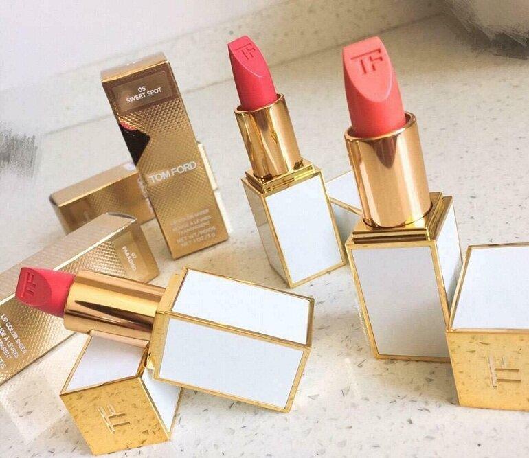 Son môi đỏ cam Tom Ford Lip Color Matte