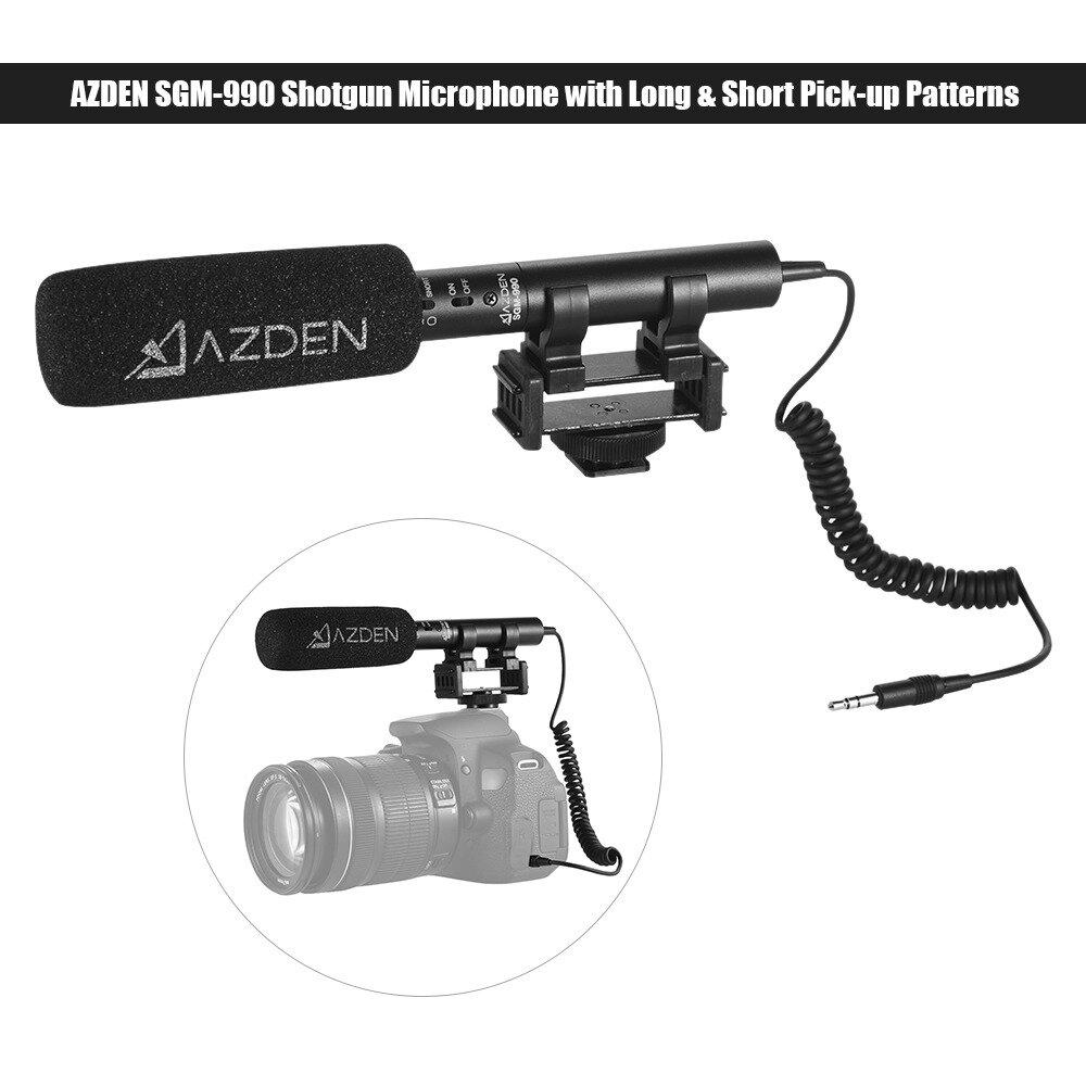 Micro thu âm Azden SGM990+i, chiếc micro thu âm xịn nên mua