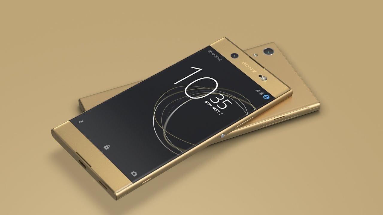 Sony XA1 Ultra có giao diện thuần Android