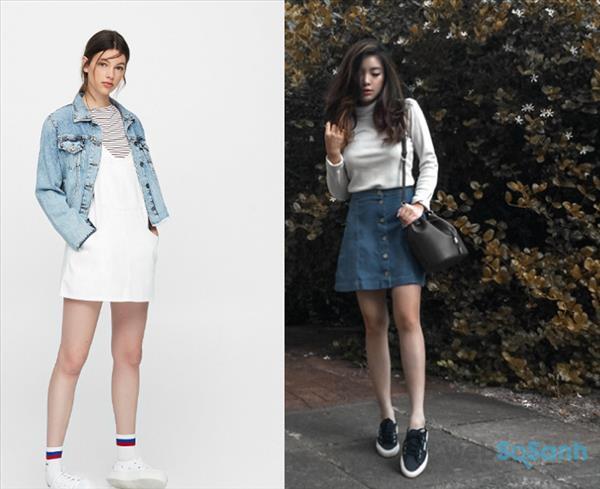 Kết hợp những item jean cùng sneaker chưa bao giờ là lỗi mốt vào mùa đông