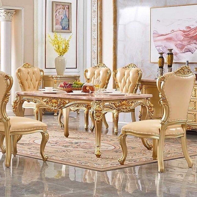 sự quý tộc của nội thất cổ điển