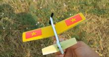 Cách làm máy bay xốp có điều khiển cho bé