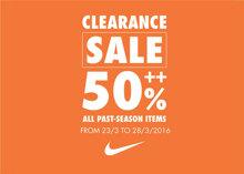 Thời trang Nike giảm giá tới trên 50%++