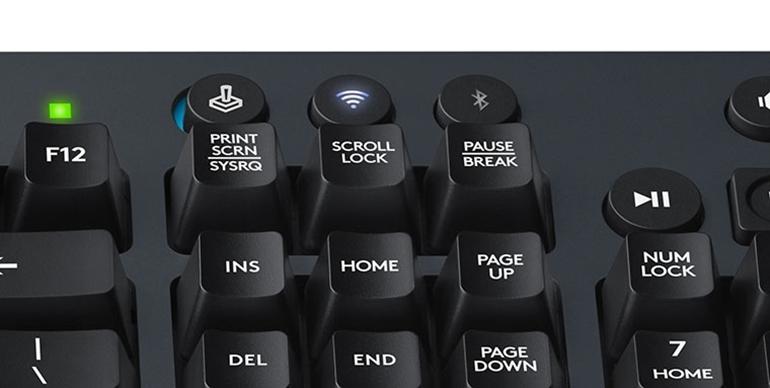bàn phím cơ không dây logitech g613