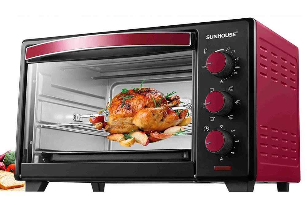 Lò nướng Sunhouse giúp việc nấu nướng của các gia đình trở nên đơn giản hơn