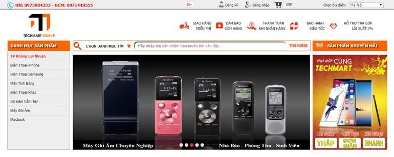 mua máy ghi âm giá rẻ