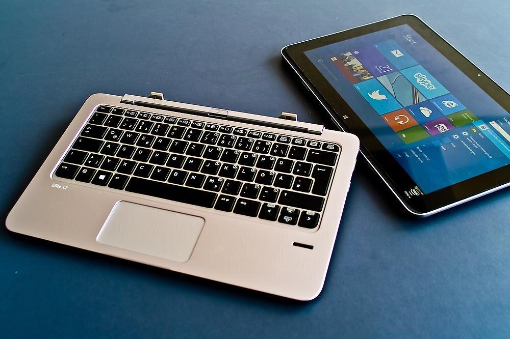 Tablet có bàn phím tiện dụng có thể lắp tháo dễ dàng