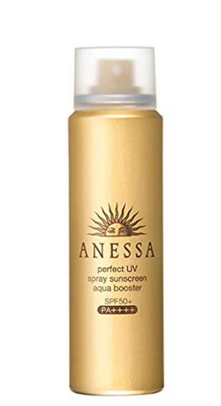 Kem chống nắng Anessa Perfect UV spray sunscreen aqua booster