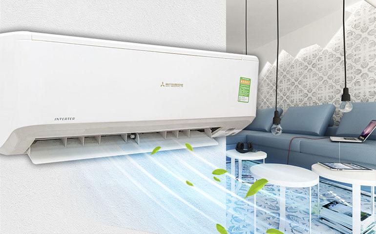 Điều hoà Mitsubishi với thiết kế hiện đại, lịch lãm và sang trọng, kết hợp với những công nghệ hiện đại cho máy làm lạnh nhanh hiệu quả lớn khi sử dụng