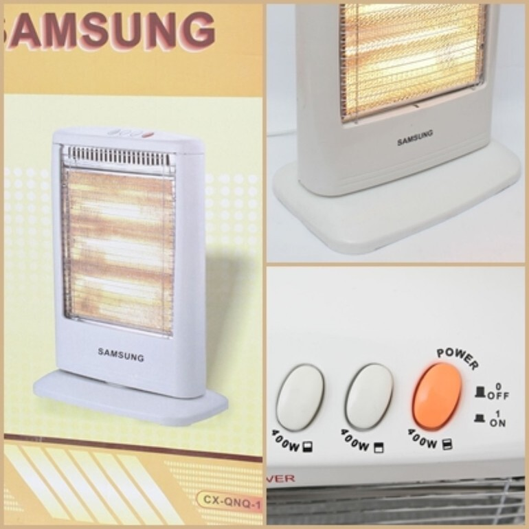 Nhược điểm của máy sưởi Samsung