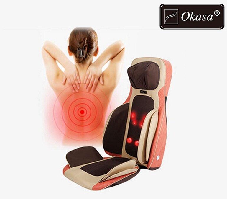 Ghế massage giúp giảm đau nhức và kích thích tuần hoàn máu