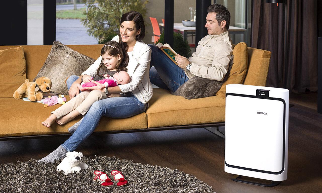 Máy lọc không khí có rất nhiều lợi ích cho cuộc sống gia đình