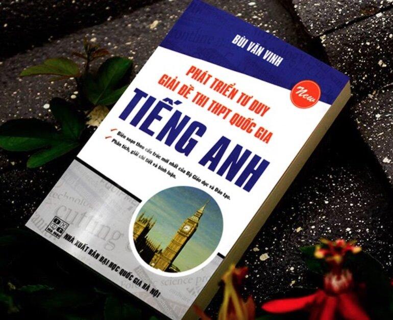 Cuốn sách giúp các em học sinh tiếp cận sát với đề thi THPT Quốc gia môn Tiếng Anh