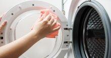 6 cách làm sạch máy giặt cửa ngang Electrolux trắng sạch bong như mới