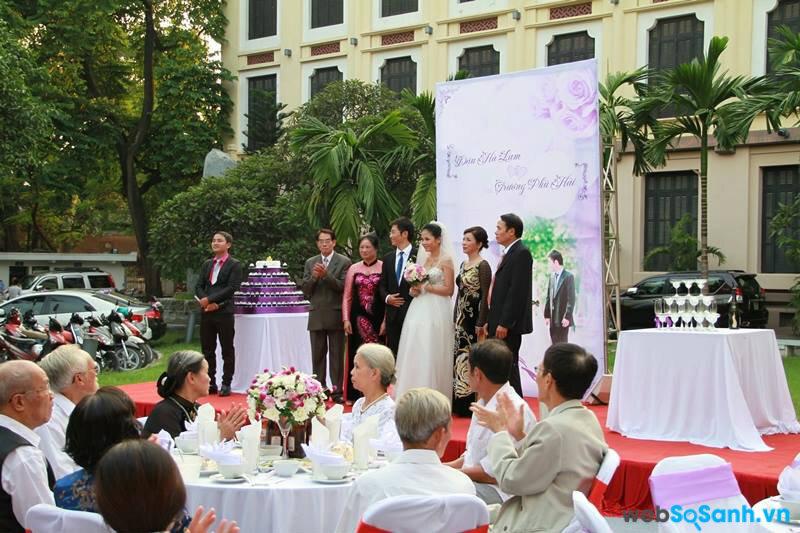 6 địa điểm tổ chức tiệc cưới ngoài trời tuyệt đẹp tại Hà Nội