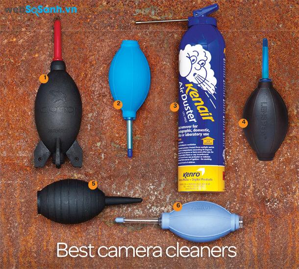 6 dụng cụ vệ sinh máy ảnh tốt nhất hiện nay