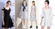 6 kiểu váy liền thiết kế diện hè hoài mà không biết chán